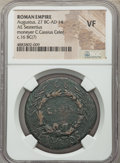 Ancients:Roman Imperial, Ancients: Augustus (27 BC-AD 14), C. Cassius Celer, moneyer. AEsestertius (37mm, 12h). NGC VF....