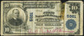 National Bank Notes:Oklahoma, Pawhuska, OK - $10 1902 Plain Back Fr. 633 The First NB Ch. # 5961 Fine-Very Fine.. ...