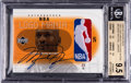 Basketball Cards:Singles (1980-Now), 2002-03 Upper Deck NBA Logo Mania Michael Jordan Logoman Autograph 1/1 #MJ2NBA BGS Gem Mint 9.5 - 10 Autograph....