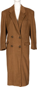 Movie/TV Memorabilia:Costumes, Farrah Fawcett Owned Bergdorf Goodman Coat. . ...