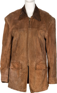 Farrah Fawcett Owned Brown Talon Jacket
