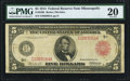 Large Size:Federal Reserve Notes, Fr. 840b $5 1914 Red Seal Federal Reserve Note PMG Very Fine 20.. ...