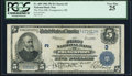 National Bank Notes:Ohio, Youngstown, OH - $5 1902 Plain Back Fr. 609 The First NB Ch. # 3 PCGS Very Fine 25.. ...