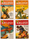 Pulps:Adventure, Argosy-All Story Weekly Box Lot (Munsey, 1934-36) Condition:Average VG+....