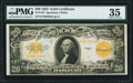 Fr. 1187 $20 1922 Gold Certificate PMG Choice Very Fine 35