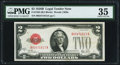 Small Size:Legal Tender Notes, Fr. 1503 $2 1928B Legal Tender Note. PMG Choice Very Fine 35.. ...