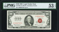 Small Size:Legal Tender Notes, Fr. 1550 $100 1966 Legal Tender Note. PMG About Uncirculated 53 EPQ.. ...