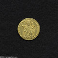 Ancients:Byzantine, Ancients: Constantine VII, with Romanus I and Christopher. A.D.913-959. AV solidus (19 mm, 4.28). Constantinople, A.D. 921-931.Chris...