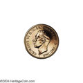 Australia: , Australia: George VI Proof Restrike Halfpenny and Penny 1942I(Bombay Mint), KM41 and 36, both are brilliant Proofs and VeryRare. The ... (Total: 2 coins Item)