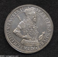 Austria: , Austria: Archduke Ferdinand Taler ND (1564-95) Hall, Davenport 8102, lightly toned XF, standing bust with very fancy armor....