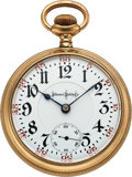 Timepieces:Pocket (post 1900), Illinois 24 Jewel Bunn Special 18 Size. ...