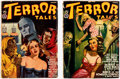 Pulps:Horror, Terror Tales Group of 2 (Popular, 1941).... (Total: 2 Comic Books)