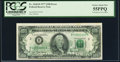Error Notes:Offsets, Full Back to Face Offset Error Fr. 2168-B $100 1977 Federal ReserveNote. PCGS Choice About New 55PPQ.. ...