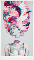 Prints & Multiples:Print, Tristan Eaton (American, b. 1978). The October March, 2018. Ink jet print in colors on Moab Entrada paper. 43 x 24-1/2 i...