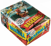 1980 Topps Baseball Wax Box With 36 Unopened Packs