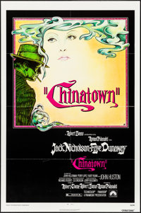 "Chinatown (Paramount, 1974). Folded, Very Fine+. One Sheet (27"" X 41""). Jim Pearsall Artwork. Mystery"