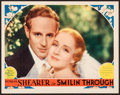 "Movie Posters:Romance, Smilin' Through (MGM, R-1930s). Very Fine/Near Mint. Lobby Card (11"" X 14""). Romance.. ..."