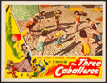 "Movie Posters:Animation, The Three Caballeros (RKO, 1945). Very Fine-. Lobby Card (11"" X 14""). Animation.. ..."