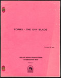 Movie Posters:Comedy, Zorro, The Gay Blade by Hal Dresner (20th Century Fox, 198...