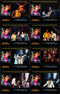 "Chuck Berry: Hail! Hail! Rock 'n' Roll (Universal, 1987). Very Fine+. Lobby Card Set of 8 (11"" X 14""). Rock an..."