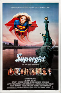 "Supergirl (Tri-Star, 1984). Folded, Very Fine+. One Sheet (27"" X 41""). Adventure"