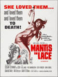 "Movie Posters:Exploitation, Mantis in Lace & Other Lot (Box Office Spectaculars, 1968).Folded, Very Fine-. Poster (30"" X 40""), & One Sheets (2) (27"" X... (Total: 3 Items)"