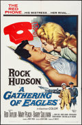 """Movie Posters:Drama, A Gathering of Eagles & Other Lot (Universal, 1963). Folded, Overall: Fine/Very Fine. One Sheets (2) (27"""" X 41""""). Drama.. ... (Total: 2 Items)"""