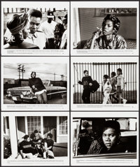 """Boyz N the Hood & Other Lot (Columbia, 1991). Very Fine-. Presskits (4) (9"""" X 12"""") with Photos (63) (8&quo..."""
