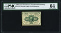 Fractional Currency:First Issue, Fr. 1242 10¢ First Issue PMG Choice Uncirculated 64.. ...