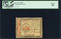 Colonial Notes:Continental Congress Issues, Continental Currency January 14, 1779 $50 PCGS About New 53.. ...