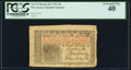 Colonial Notes:New Jersey, New Jersey March 25, 1776 12s PCGS Extremely Fine 40.. ...
