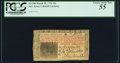 Colonial Notes:New Jersey, New Jersey March 25, 1776 15s PCGS Choice About New 55.. ...