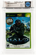 Video Games:Xbox, Halo: Combat Evolved (Xbox, Microsoft, 2001) Wata 9.6 A (Seal Rating) Game of the Year Edition (GOTY)....