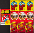 Basketball Cards:Unopened Packs/Display Boxes, 1976-81 Topps Basketball Unopened Wax Pack Collection (10)....