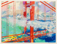 LeRoy Neiman (1921-2012) San Francisco by Day, 1991 Serigraph in colors on paper 29 x 38 inches (