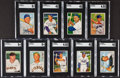 Baseball Cards:Sets, 1952 Bowman Baseball Starter Set (53 Different). ...