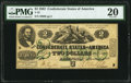Confederate Notes:1862 Issues, T43 $2 1862 PMG Very Fine 20.. ...