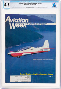 MAGAZINES: Aviation Week & Space Technology Dated July 7, 1986, Directly From The Armstrong