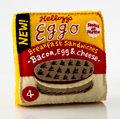 Collectible:Contemporary, Lucy Sparrow (British, b. 1986). Eggo Breakfast Sandwiches, 2017. Felt sculpture. 8-1/2 x 8 x 3 inches (21.6 x 20.3 x 7....