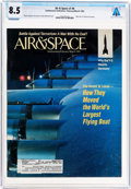 Explorers:Space Exploration, Magazines: Air & Space Dated February/March 1993, Directly From The Armstrong Family Collection™, CAG Certified an...