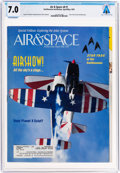Explorers:Space Exploration, Magazines: Air & Space Dated April/May 1993, Directly From The Armstrong Family Collection™, CAG Certified and Gra...