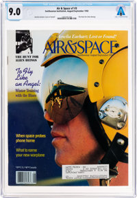 Magazines: Air & Space Dated August/September 1992, Directly From The Armstrong Family Collection™, CAG Certifie...