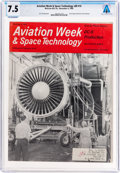 Explorers:Space Exploration, Magazines: Aviation Week & Space Technology Dated November 4, 1968, Directly From The Armstrong Family Collection™...
