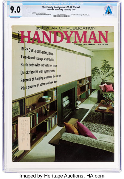Magazines: The Family Handyman Dated February 1970, Directly