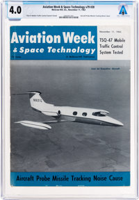 Magazines: Aviation Week & Space Technology Dated November 11, 1963, Directly From The Armstrong Family Collecti...