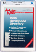 Explorers:Space Exploration, Magazines: Aviation Week & Space Technology Dated 1986 Aerospace Directory (December 30, 1985), Directly From The ...