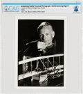 Explorers:Space Exploration, Neil Armstrong Signed Later Portrait with Wright Flyer Model Directly From The Armstrong Family Collection™, CAG Certified. ...