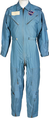 Apollo: Neil Armstrong's Personally Owned and Worn Early Apollo-Era Flight Suit by Flite Wear with Type 3 NASA Vector Pa...