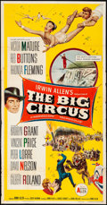 Movie Posters:Drama, The Big Circus & Other Lot (Allied Artists, 1959). Folded,...