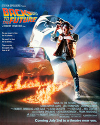 "Back to the Future (Universal, 1985). Rolled, Very Fine-. Mall Poster (40"" X 50"") DS Advance. Drew Struzan Art..."